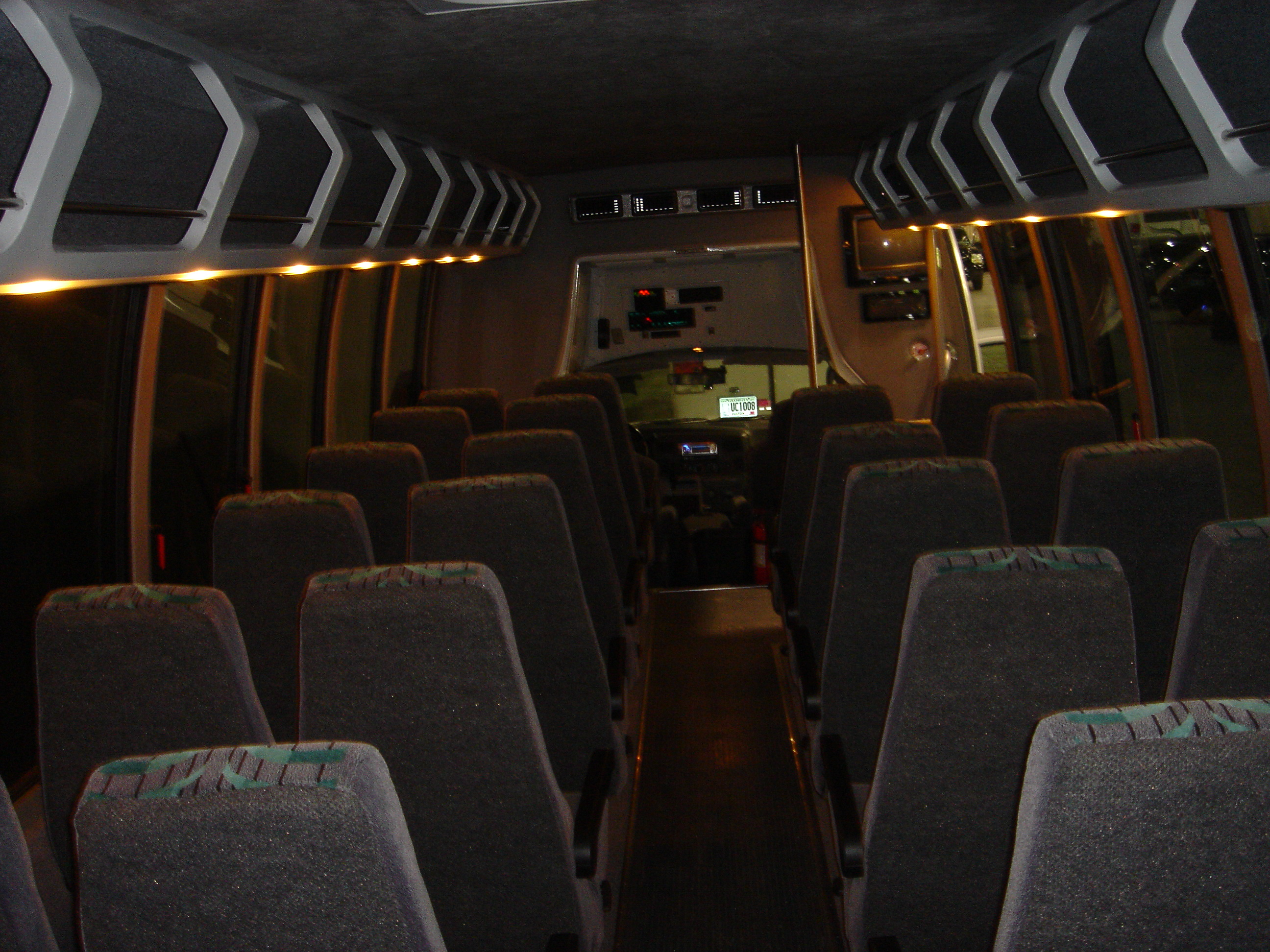 Interior: Event Transportation Atlanta
